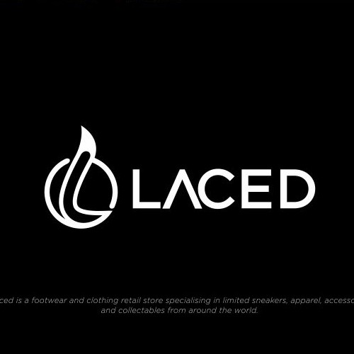 laced logo design
