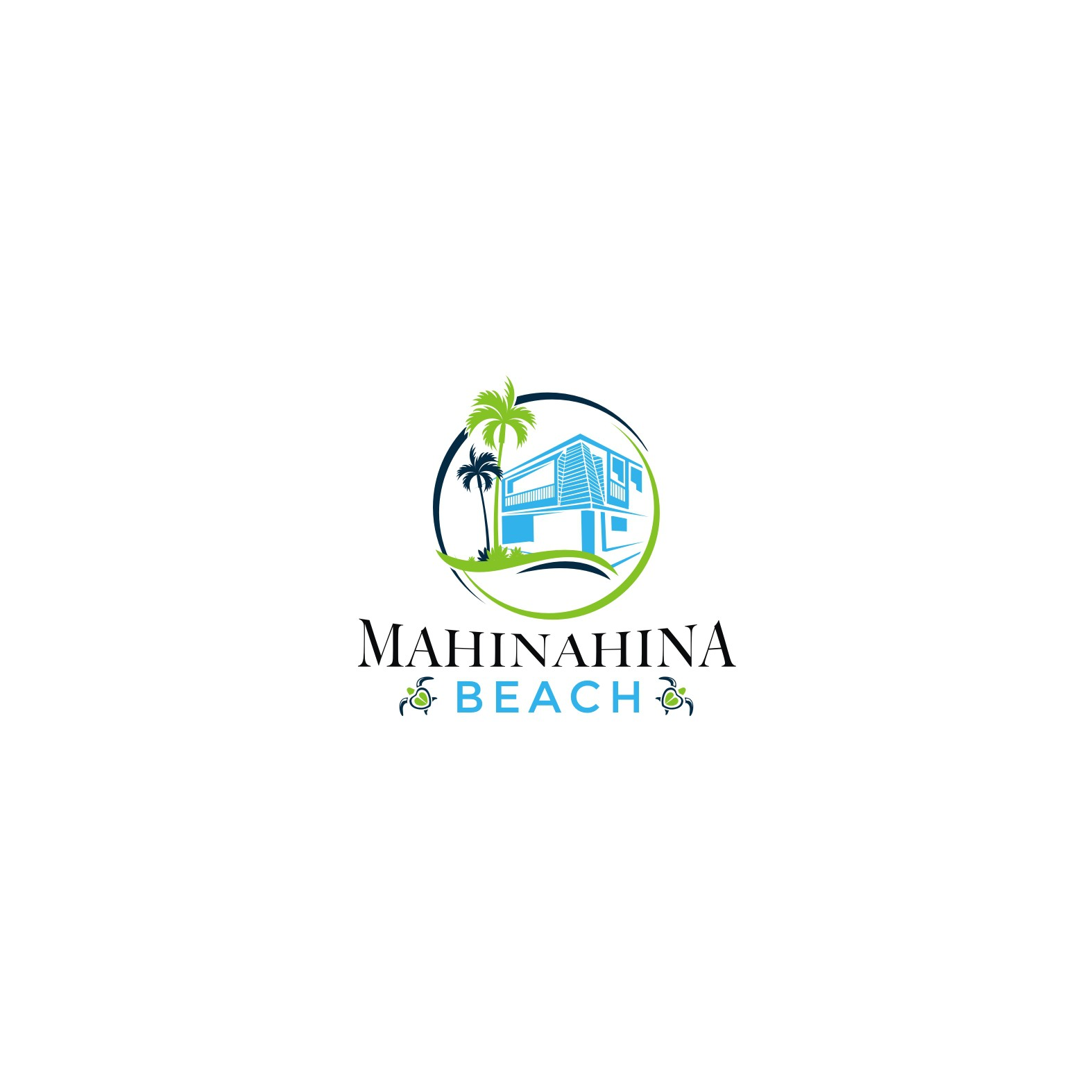 Classic Maui style logo with a modern flair!