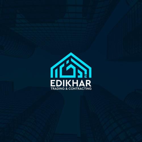 EDIKHAR logo design