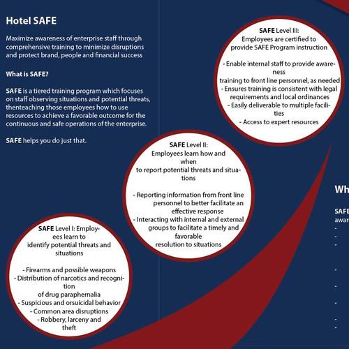 Brochure for Hotel Safe
