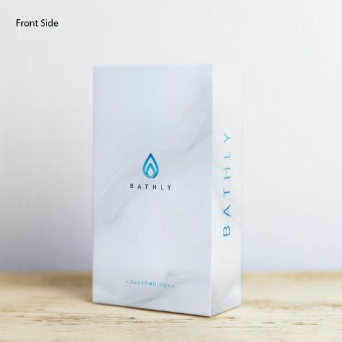 Packaging Design For Bath Stuff