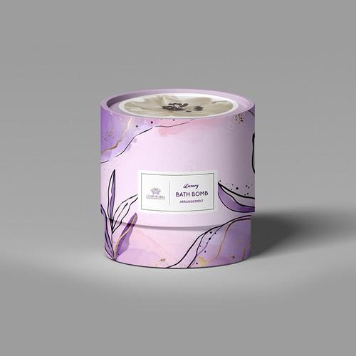 Luxury bath packaging