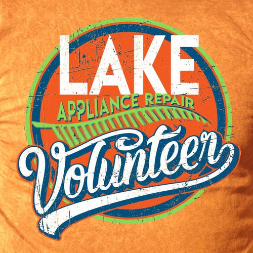 Lake appliance repair shirt Design