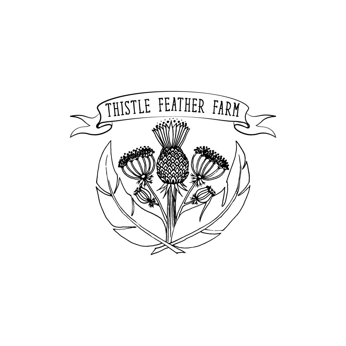 LOGO NINJA NEEDED FOR THISTLE FEATHER FARM!!!
