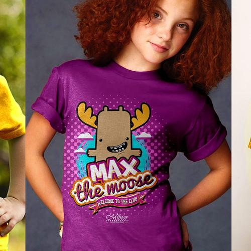 Cartoon T-shirts!