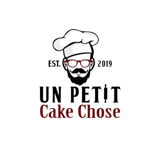 Logo for a baker chef