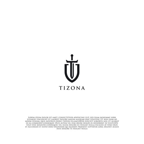 Bold logo concept for Tizona
