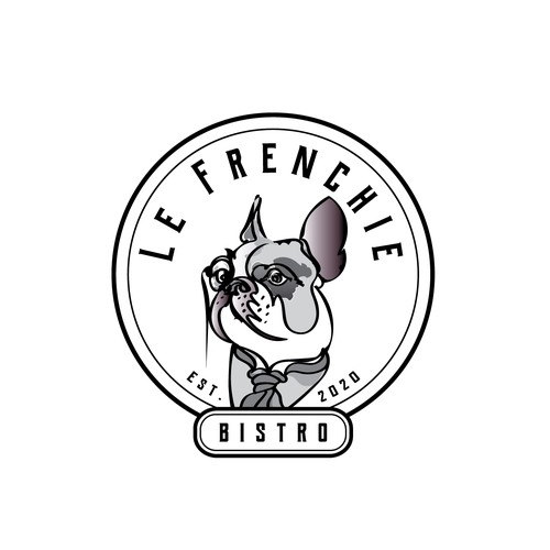 Logo concept for French Bistro.
