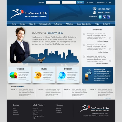 webdesign concepts for company