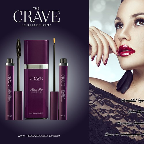 Crave collection packaging
