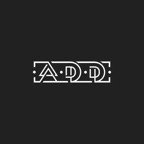 Abstract Typography Logo