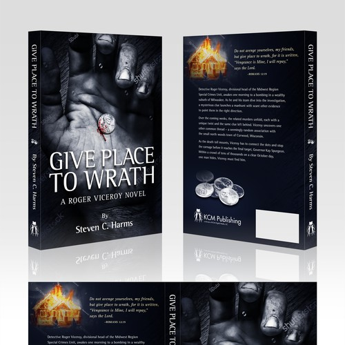 Give Place to Wrath Book Cover Design