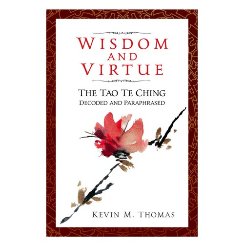 Book cover design for book on the Tao Te Ching