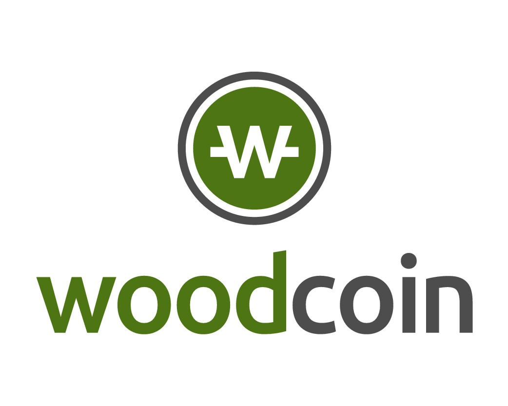 Design logo for woodcoin - the first public cryptocurrency with a logarithmically growing money supply.