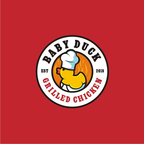 'Baby Duck' Grill Needs a Restaurant Logo!