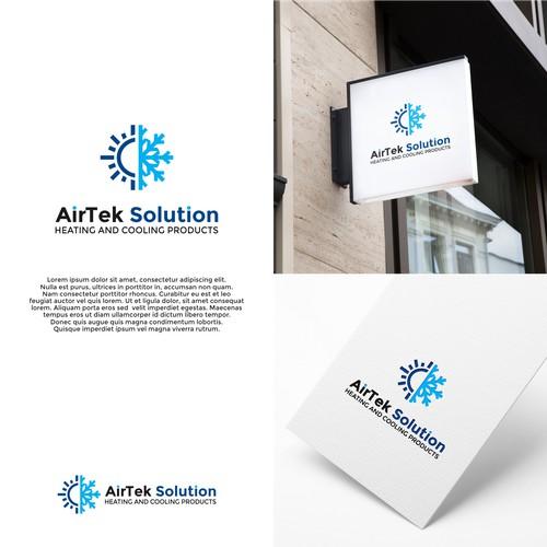 Logo Concept For AirTek Solution