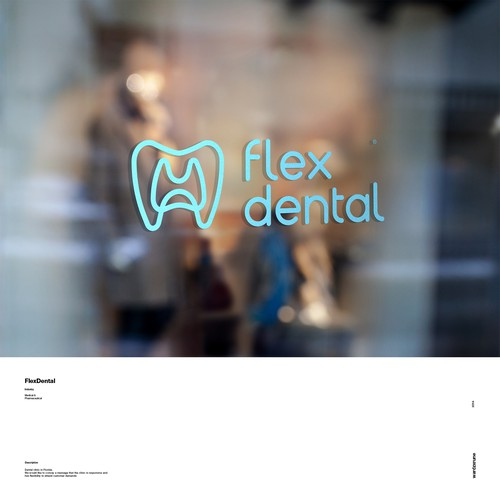 Logo concept for a Dentist Brand
