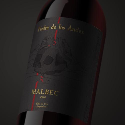 Unique Wine Label