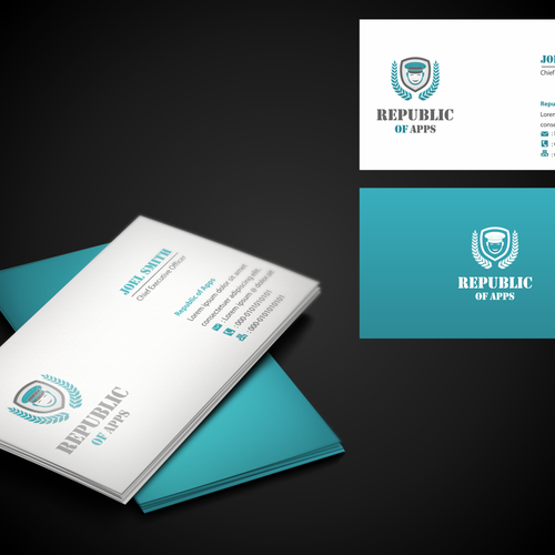 New logo and business card wanted for RepublicOfApps