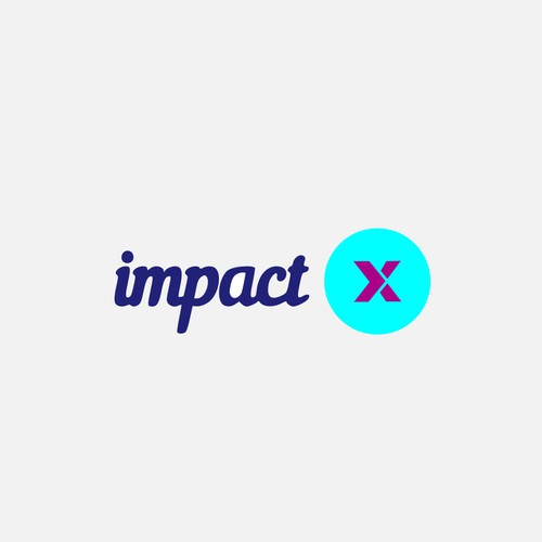 Logo design concept for Impact X