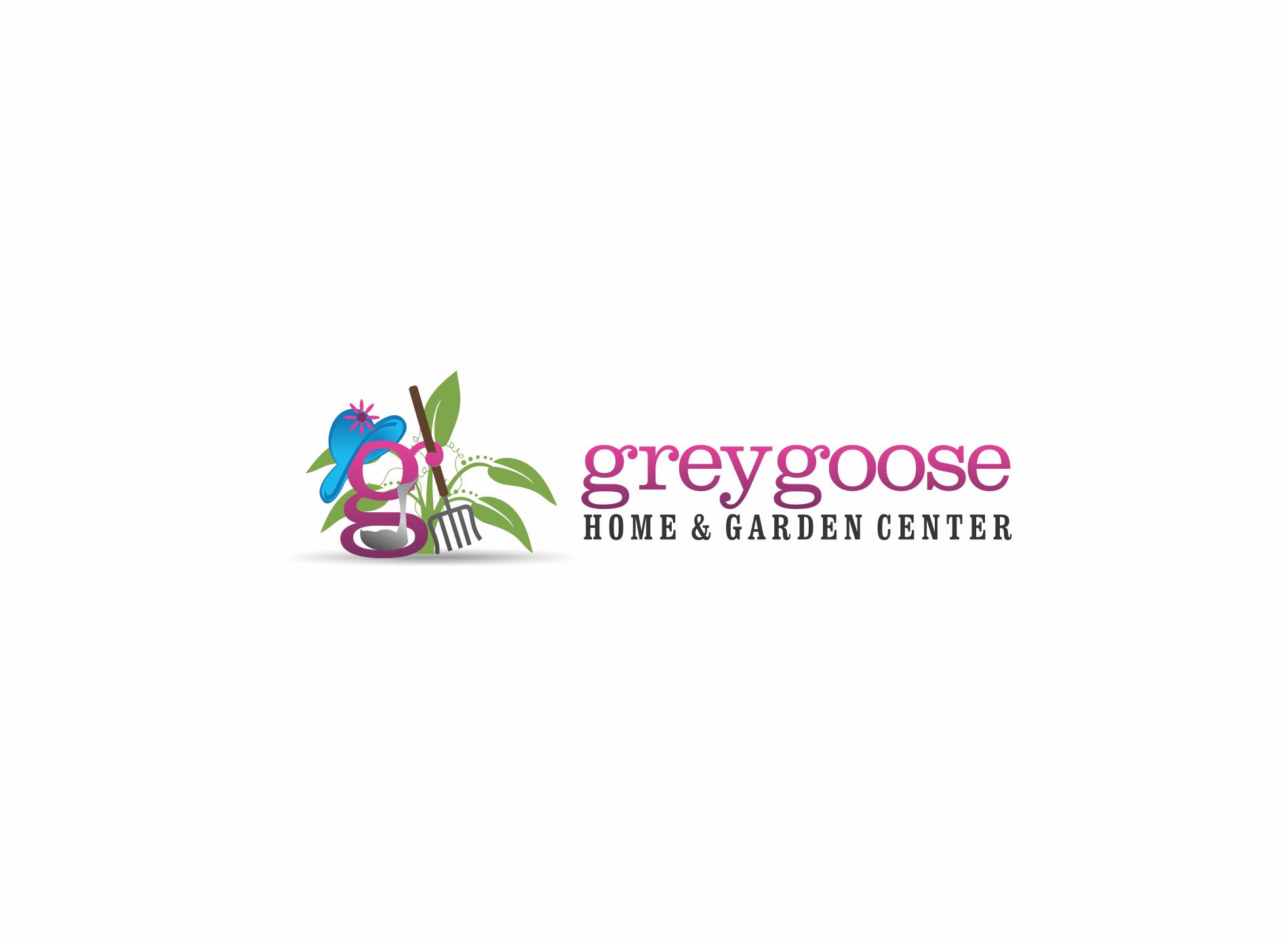 Grey Goose Needs A New Vibrant/Chic/Hip Logo For Their Nursery & Garden Center