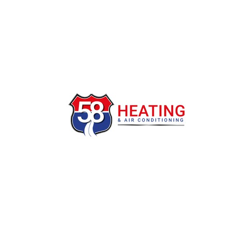 Air Conditioning and Heating logo branding