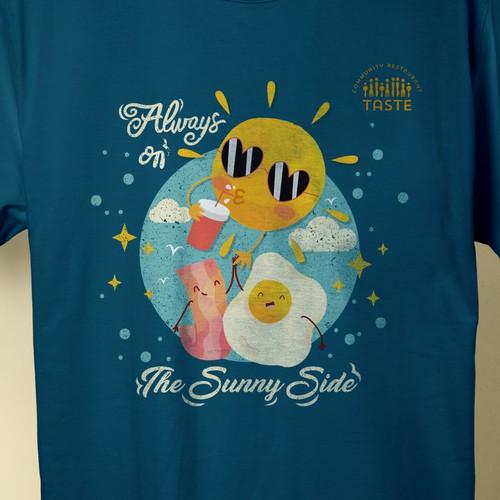 Breakfast T-Shirt (Always on the Sunny Side)