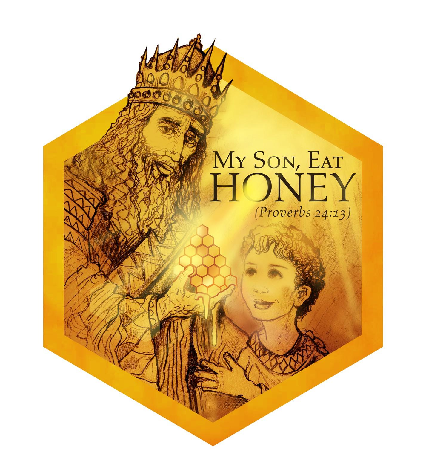 Create a winning logo for healthy local honey.