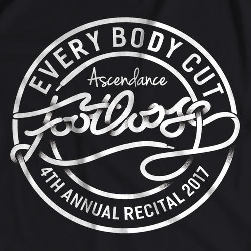 Footloose Cut Loose! - T shirt design for Dance Recital