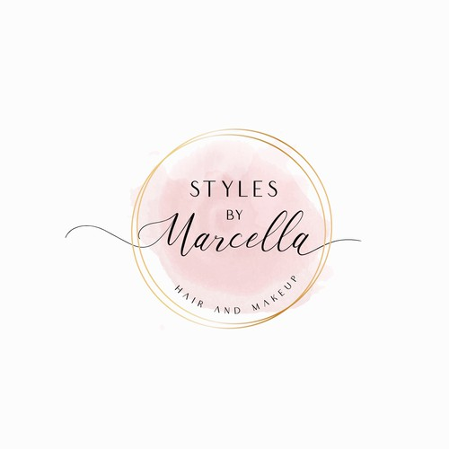Logo for a Hair and Make-up Artist