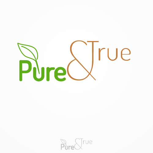 New logo wanted for Pure & True