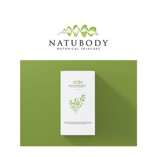 Botanical Skin Care Logo design