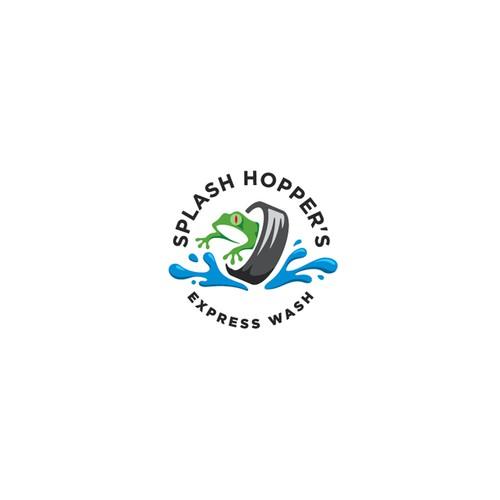 Funky Logo Design for Car Wash