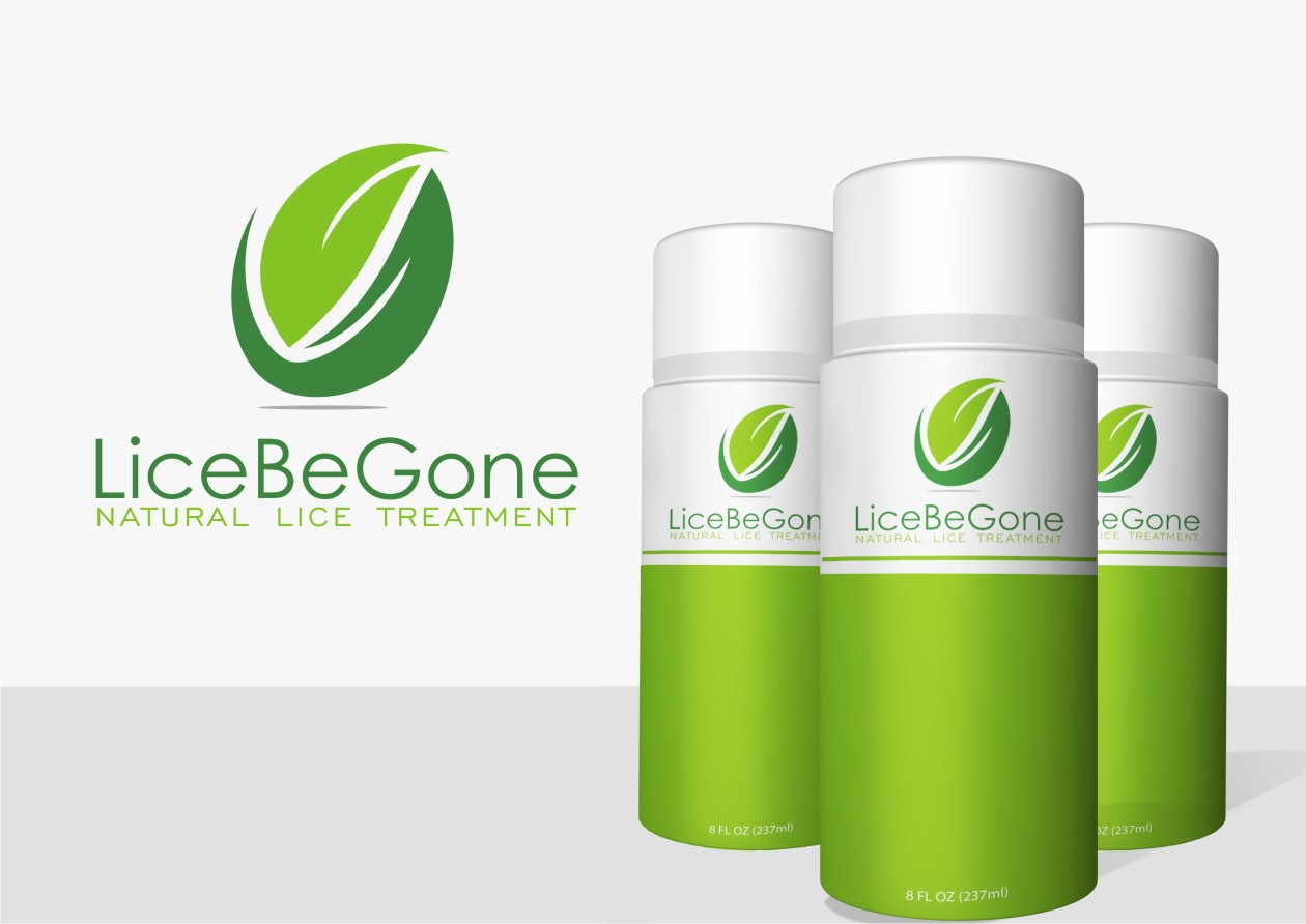 Create the all natural logo to get rid of lice for LiceBeGone