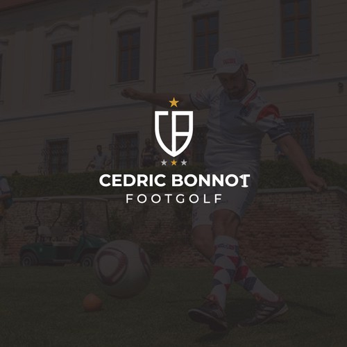 Logo for profesional footgolf player in france. Looks great for him