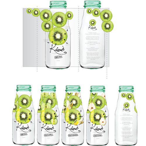 Organic Homemade Juice Logo & Label