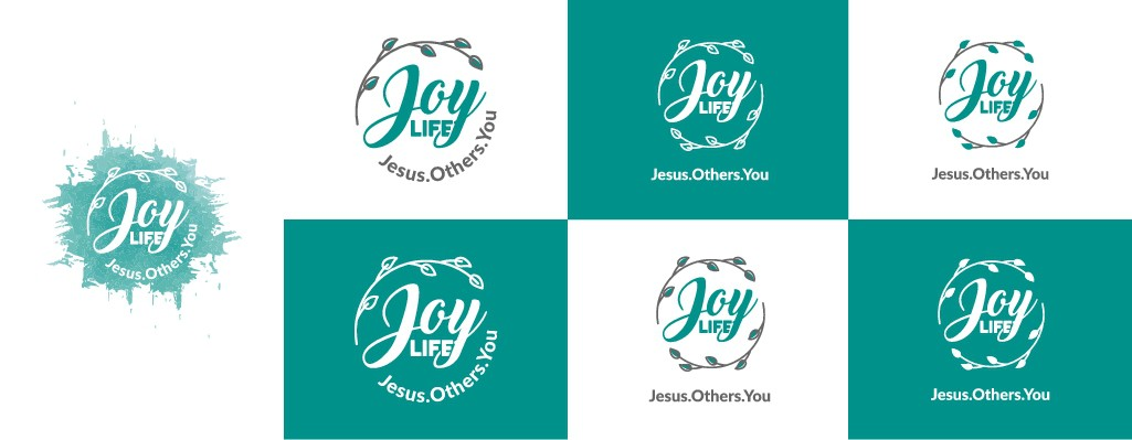 An inspiring logo needed for J.O.Y. Life!