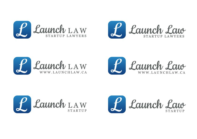 Create the next logo for Launch Law