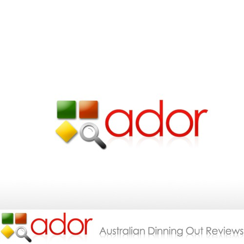 New Logo Design wanted for ador - Australian Dining Out Reviews