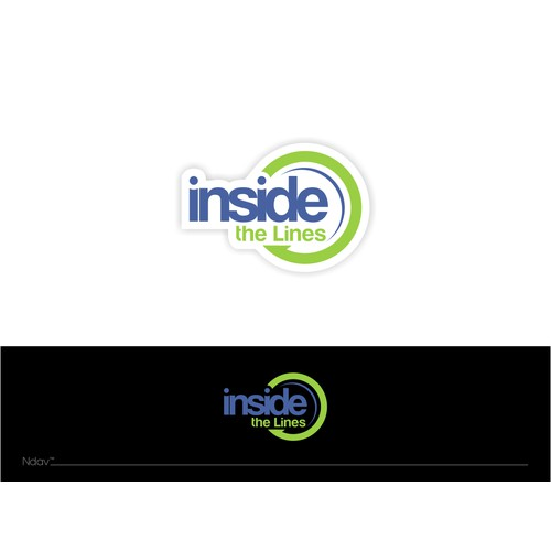 """Create a logo for sports organization called """"Inside the Lines"""""""
