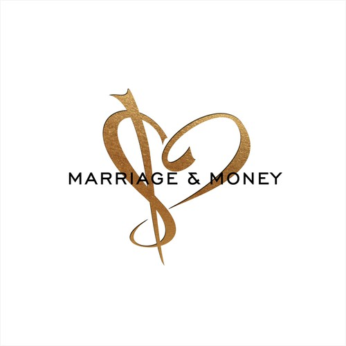 Cute logo for wedding services