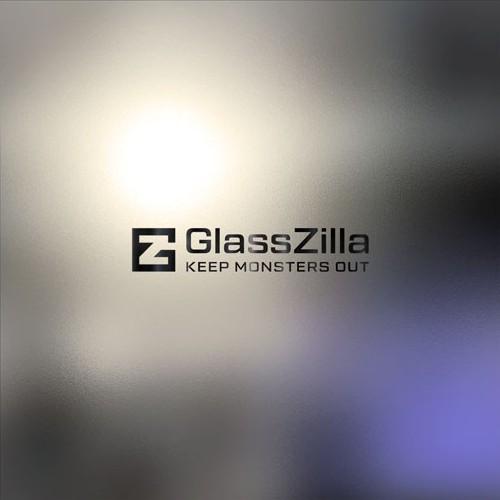 Simple creative logo concept for GlassZilla