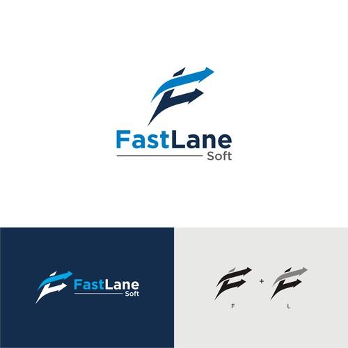 FAST LANE SOFT - LOGO