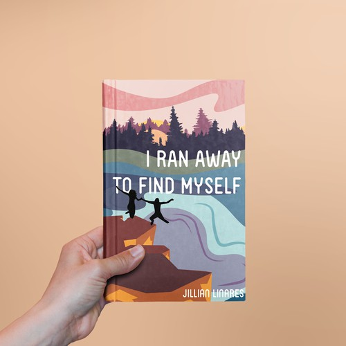 I Ran Away To Find Myself - Book Cover Design