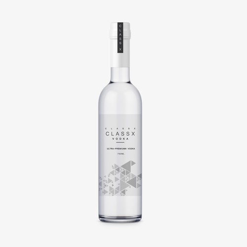 Classx Vodka Packaging.