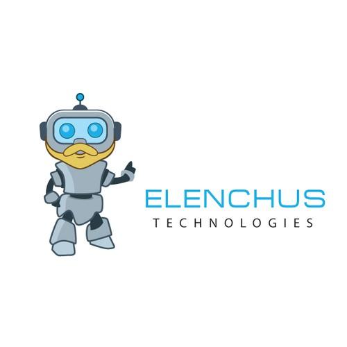 "Philosophy Character Logo for Tech Company ""Elenchus Technologies"""