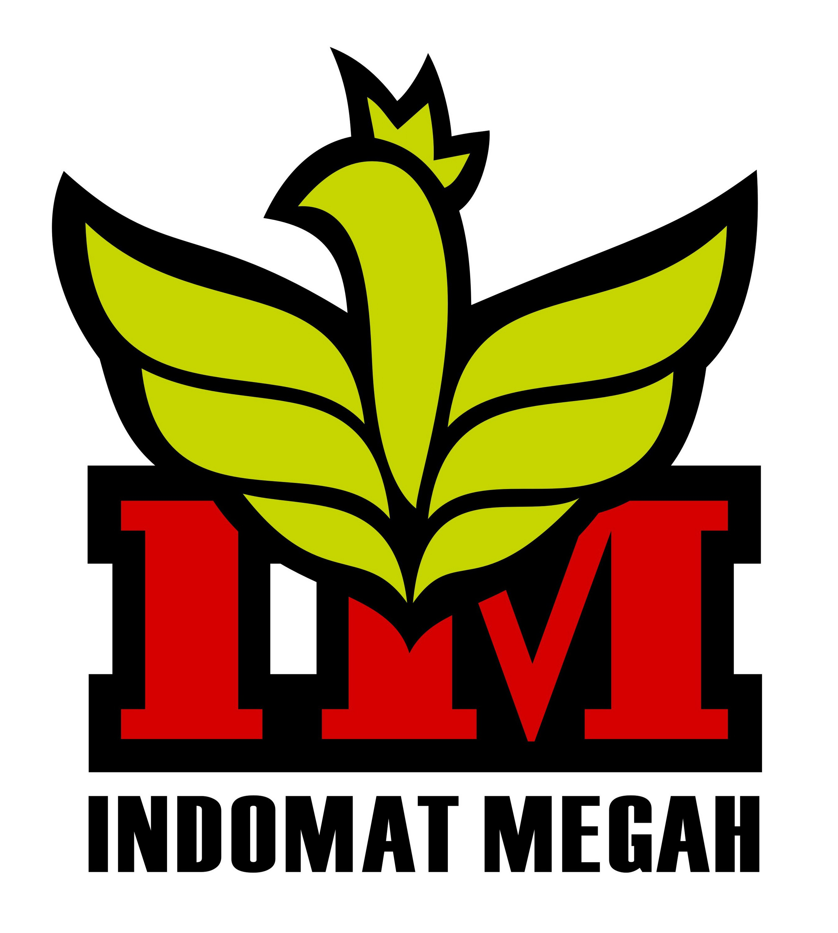 Redesign Indomat Megah Logo
