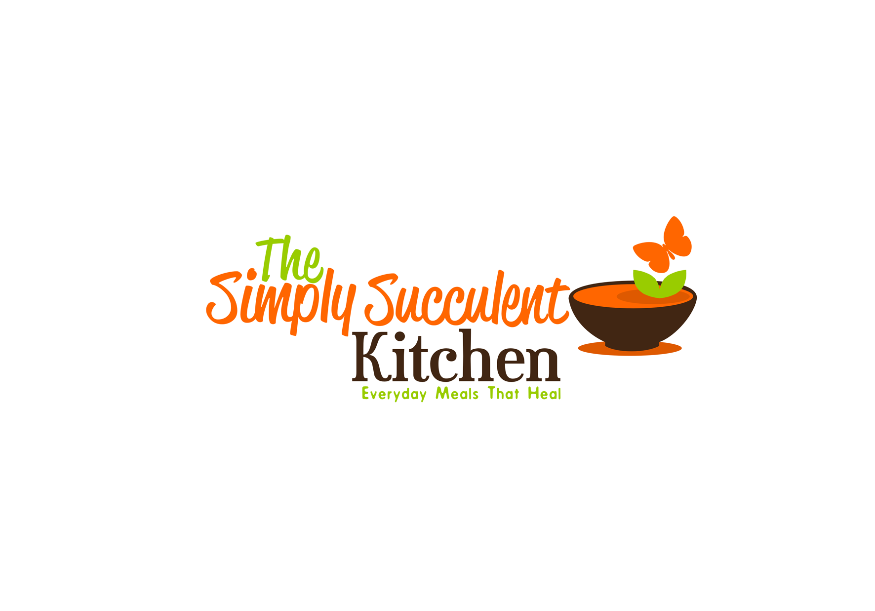 The Simply Succulent Kitchen needs a new logo