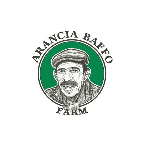 Artisan portrait farm logo