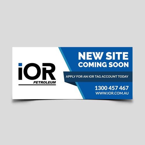 IOR Petroleum Billboard design